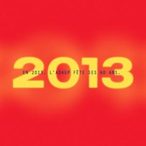 Tout pour plaire - carte de voeux électronique 2013 - Adagp