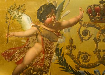Tout pour plaire - Signalétique de l'exposition Sacres Royaux au Palais du Tau, à Reims - vignette