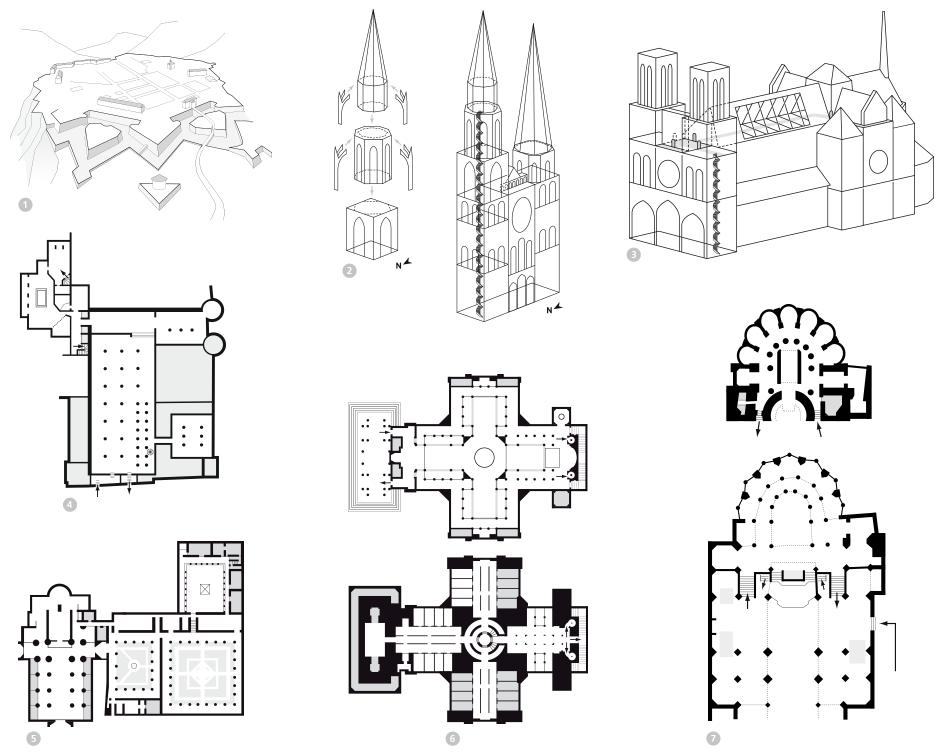 Tout pour plaire - Processus de simplification des plans de situation - exemples - Centre des monuments nationaux