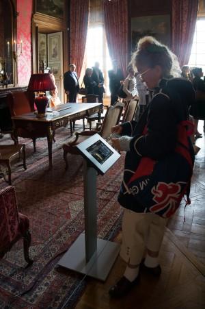Tout pour plaire - signalétique - château de Champs-sur-Marne - cartel numérique - Centre des monuments nationaux