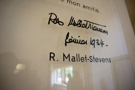 tout pour plaire - signalétique - Villa Cavrois - Mallet Stevens - Centre des monuments nationaux