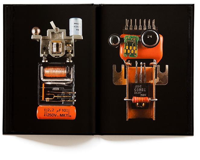 Robomorphe - livre photo de Marc Dumas - Éditions Tout pour plaire - isbn : 2-9514322-4-0