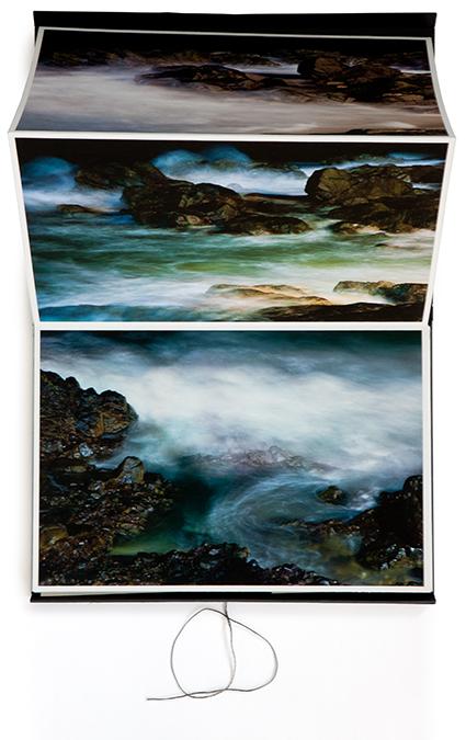 Vagues - livre d'artiste - Marc Dumas - Éditions Tout pour plaire